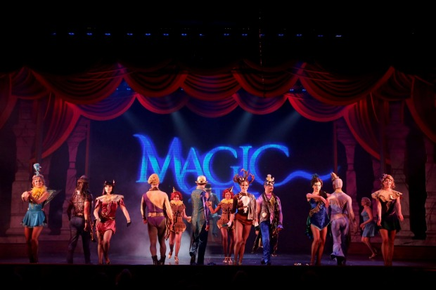 Princess Cruises' Magic to Do performed onboard Crown Princess.
