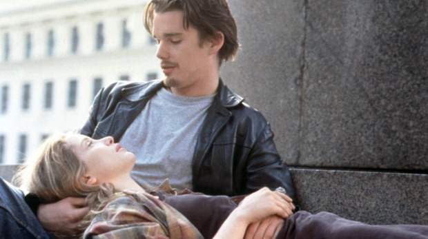 A still from the 1995 film <i>Before Sunrise</i>.