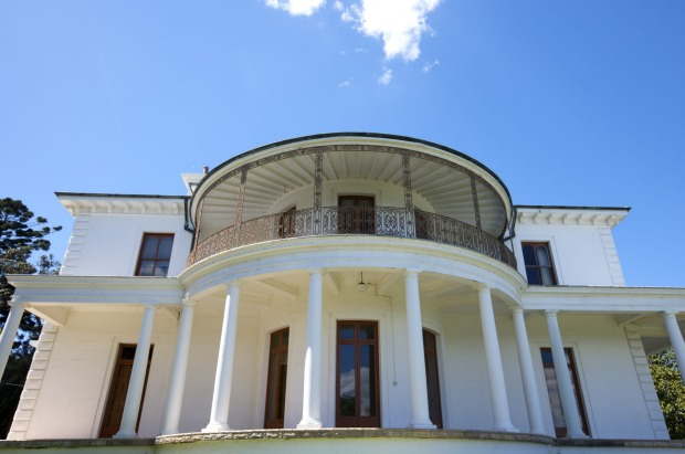 STRICKLAND HOUSE, SYDNEY This stately house by the harbour doubles as Darwin's Government House in Baz Luhrman's ...