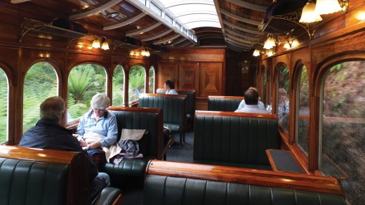 The charming and comfortable carriages.