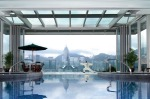 The pool at the The Peninsula Hong Kong.