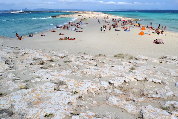 Number 7: Playa de Ses Illetes, Formentera, Spain.
