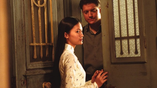 Do Thi Hai Yen and Brendan Fraser in the 2002 film, The Quiet American.