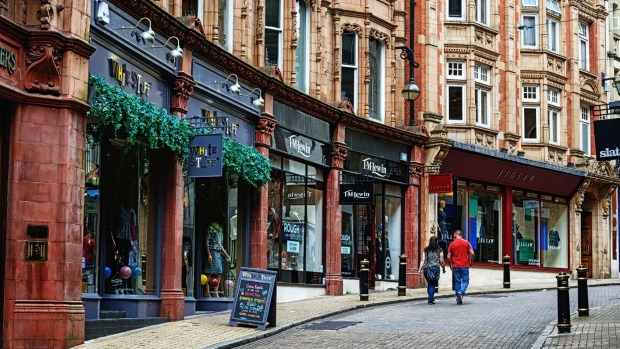 Urban rejuvenation has brought charm to Cannon Street.