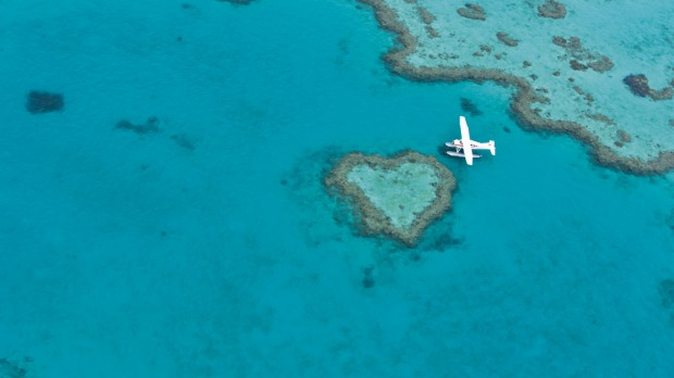 Heart Reef, Great Barrier Reef, Whitsundays: Australia's