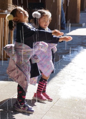 Visiting the Meiji Shrine in Tokyo recently we had the bonus of fresh snow on the ground--and on the eaves of the ...