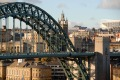 Tyne Bridge, Newcastle where you can find the Bridge Tavern.