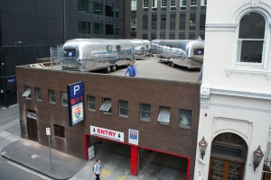 The Age, News/Online.The carpark roof is being turned into a luxury hotel called ''Notel'' with 6 Airstream trailers ...