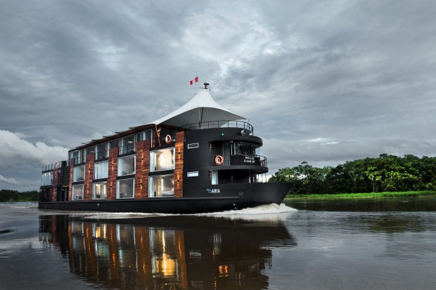 Aqua Expeditions' Aria Amazon.