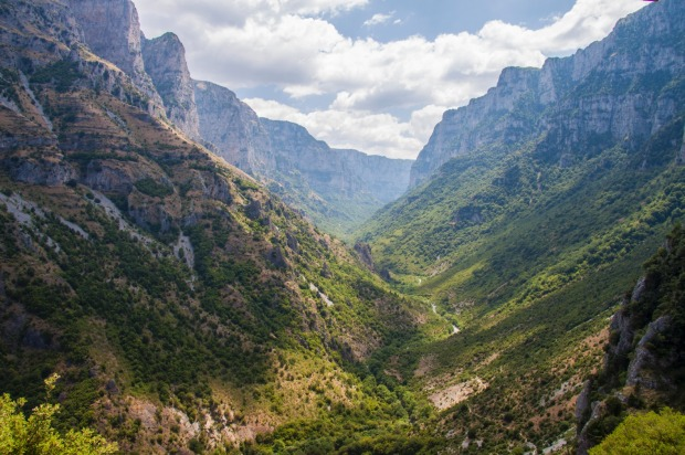 Vikos Gorge (Greece): Guinness World Records has listed this gorge in northern Greece as the deepest in the world in ...