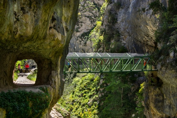Garganta del Cares (Spain): The only thing grander than the Picos de Europa's name - the so-called Peaks of Europe - is ...
