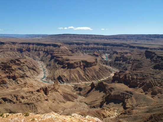 Fish River Canyon (Namibia): Africa's second great canyon is just across the South African border, in southern Namibia. ...