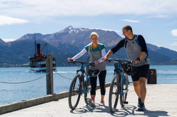 Historic Walter Peak Station is part of the Around the Mountains cycle trail. Walter Peak is linked to Queenstown by the ...