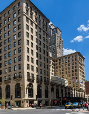 The famous Drake Hotel on N Michigan Avenue, used in <i>Risky Business</i>, among other films.