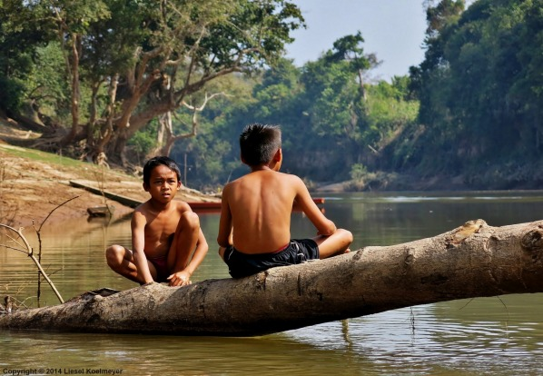 While canoeing through the Phou Khao Khouay National Park in Laos, we got to see some of the traditional way of life of ...