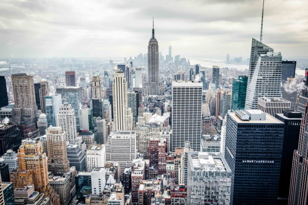 James Vodicka | jvodickaphotography@mail.com Wed 24 Feb, 2016, 9:37am Top Of The Rock. The view over lower Manhattan ...
