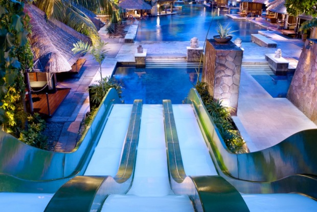 Five of the best kid friendly waterslides top family - Child friendly hotels swimming pool ...