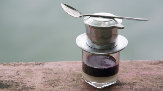 Vietnamese coffee - a delicious pick-me-up.