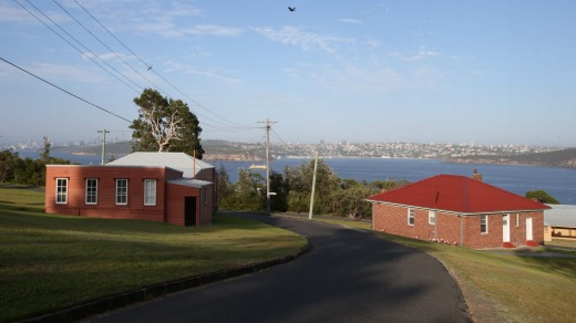 Accommodation units at Q Station, North Head, Manly.