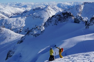Ski touring offers uncrowded slopes and serene alpine experiences in the Whistler backcountry.