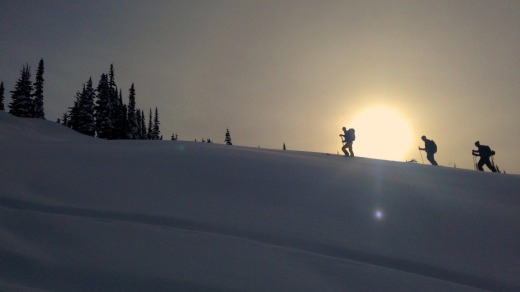 Ski touring the Whistler backcountry with Extremely Canadian.