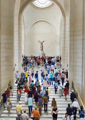 The Winged Victory of Samothrace, also called the Nike of Samothrace, is a 2nd-century BC marble sculpture of the Greek ...