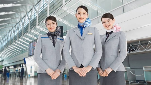 ANA cabin crew offer excellent service.