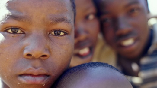 Children in Soweto.