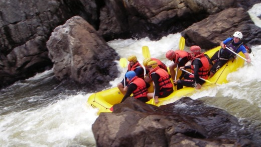 The Nymboida is a testing river with plenty of grade four and five rapids to challenge thrill-seekers.
