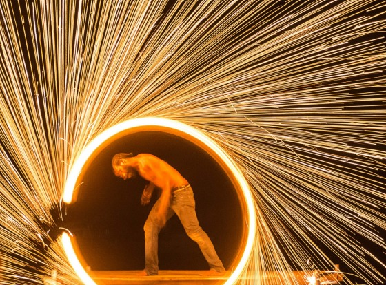 During a trip to the lovely Vanuatu last November, we managed to catch a fire dancing show being held at one of the ...