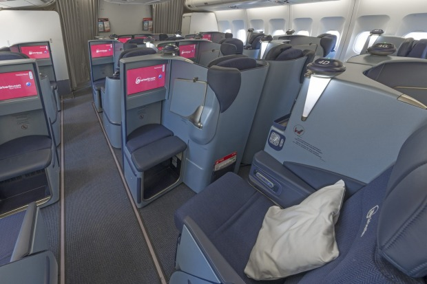 Air Berlin A330 business class.