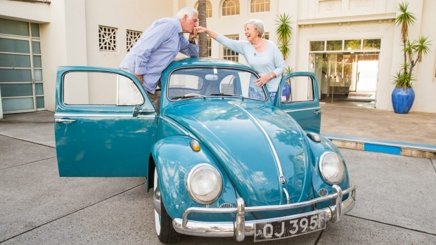 Ivan and Beth Hodge are setting out on one last journey in their beloved Volkswagen Beetle.