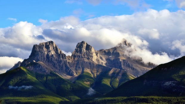 Soak up the best view in Canmore from the patio of the Iron Goat Pub & Grill.