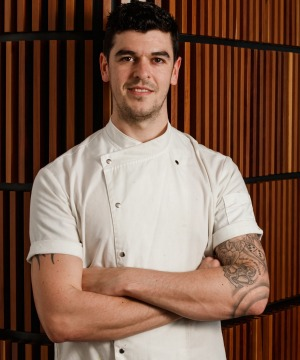 Ollie Hansford is head chef at Stokehouse City in Melbourne.