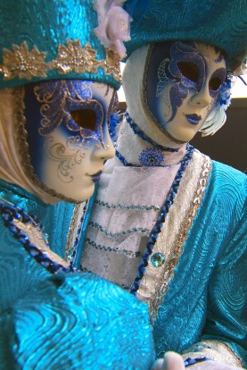 The Venice carnival in the historical lagoon city attracts people from around the world.
