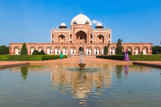 Humayun's Tomb was declared a UNESCO world heritage site in 1993.