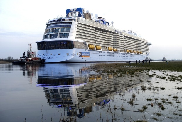 Ovation of the Seas will be the largest cruise ship ever based in Australia.