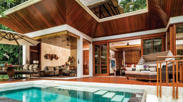 Four Seasons Sayan, Bali. This slick, contemporary hotel is made for holistic holidaymakers who are unwilling to forgo ...