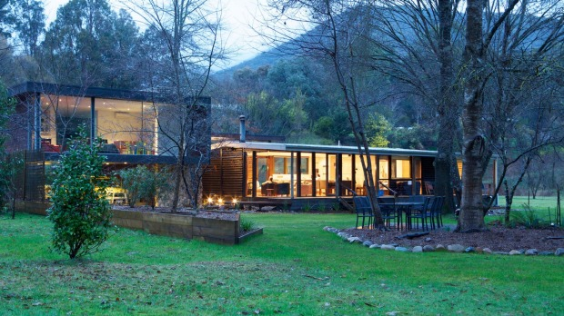 Play Shack 2 sits on a lush acre in the shadow of Mount Buller.