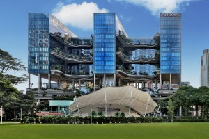 The Parkroyal stands out for its green credentials.