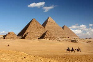 Giza and the Pyramids of Egypt.