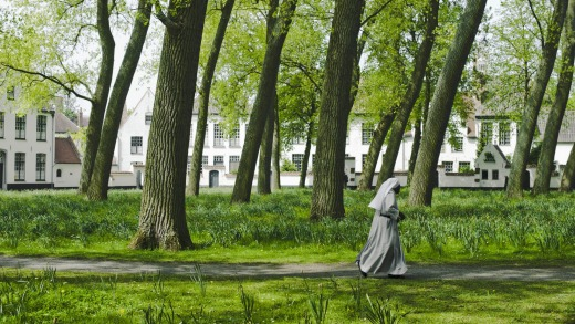 The Beguinage Monastery, Bruges.