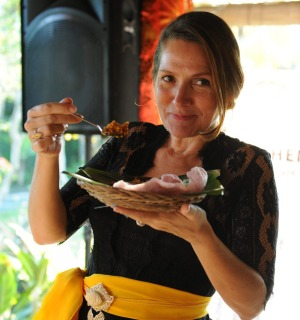 Janet DeNeefe, who started the Ubud Food Festival in 2015.