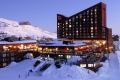 Valle Nevado resort.