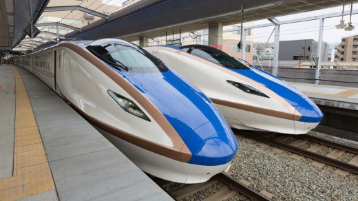 Japan's bullet trains are giving the country's airlines a run for their money.