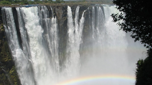 Among the many treasures to be found on the African continent are the Victoria Falls.
