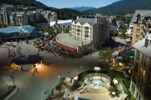 Whistler Village has a good range of boutiques, galleries, spas, hairdressers, bars, cafes and restaurants.