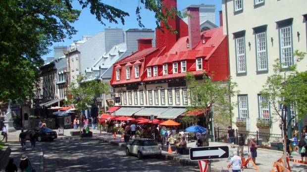 Quebec City is full of incredible historic architecture.