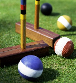 Despite its genteel reputation, croquet can be a vicious sport.