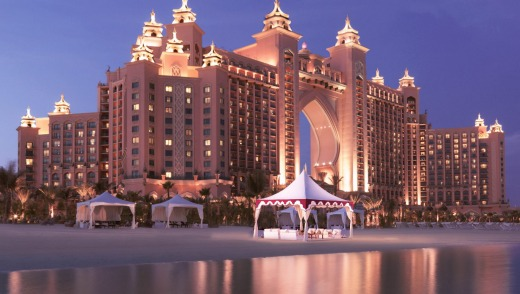 Atlantis, The Palms in Dubai.